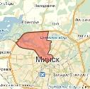 Карта размещения билбордов в Центральном районе г. Минска