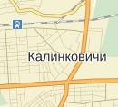Размещение билбордов на карте, г. Калинковичи