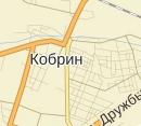 Карта размещения билбордов в г. Кобрин
