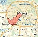 Карта размещения билбордов в Московском районе г. Минска