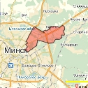 Карта размещения билбордов в Первомайском районе г. Минска