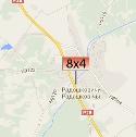 Размещение билбордов на карте г. Радошковичи