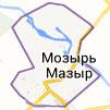 Карта г. Мозыря