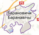 Карта размещения билбордов в г. Барановичи