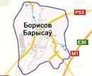 Размещение билбордов на карте г.Борисова