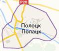 Карта г. Полоцка
