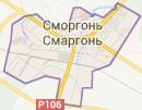Размещение билбордов на карте, г. Сморгонь