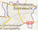 Размещение билбордов на карте, г. Волковыска